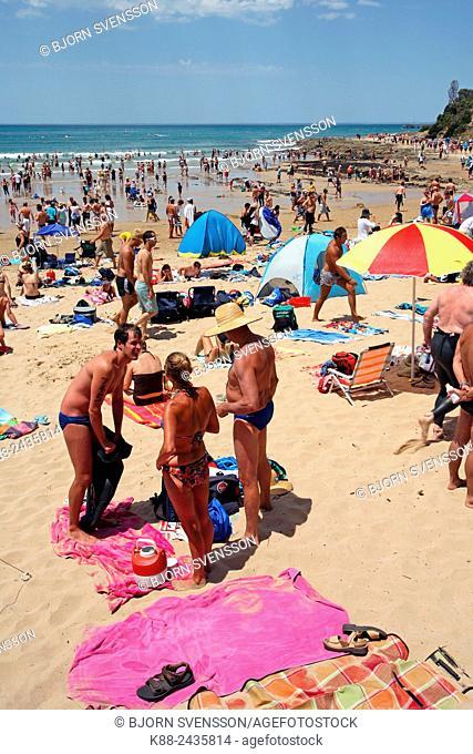 Lorne Beach along the Great Ocean Road. Victoria, Australia
