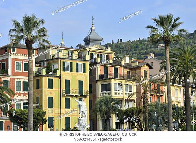 Italy, Liguria, Santa Margherita Ligure