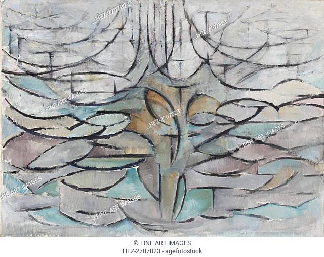 The Flowering Apple Tree, 1912. Creator: Mondrian, Piet (1872-1944)