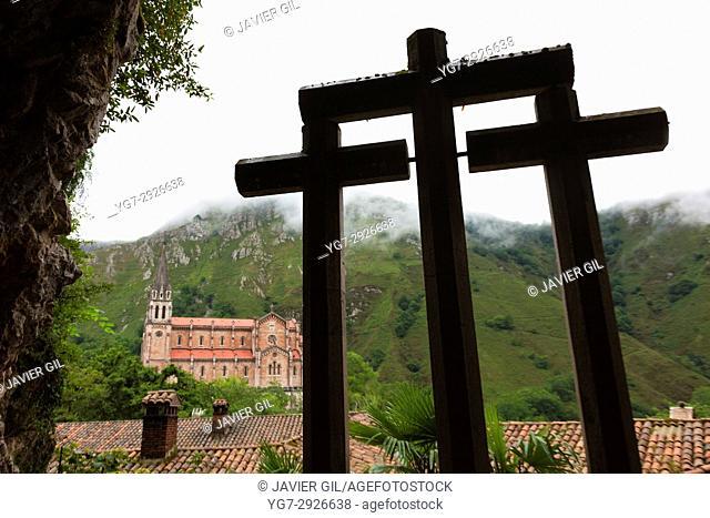 Basilica of Our Lady of Covadonga, Asturias, Spain