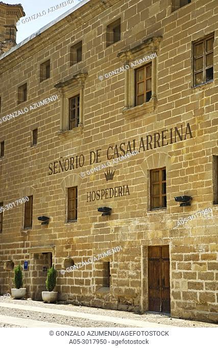 Hospederia Señorío de Casalarreina hotel. Casalarreina. La Rioja. Spain