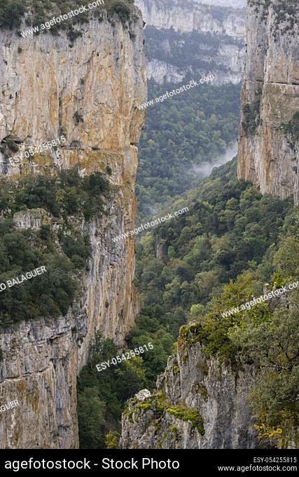reserva natural de la Foz de Arbayun, comunidad foral de Navarra, Spain