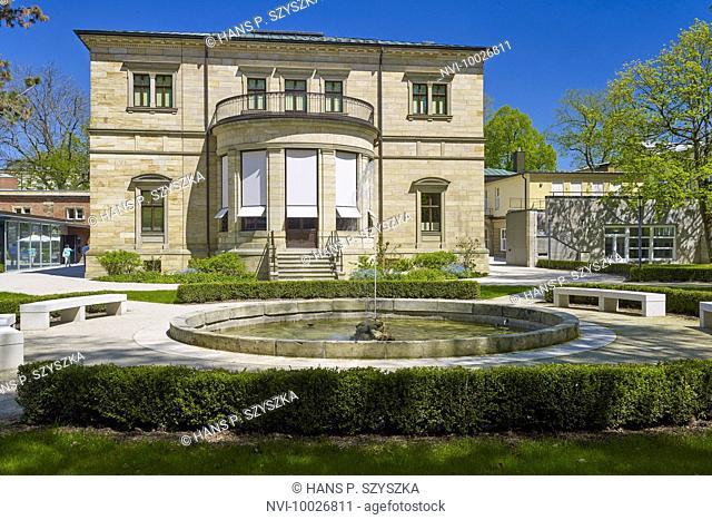 Villa Wahnfried, residence of Richard Wagner in Bayreuth, Oberfranken, Bayern, Germany