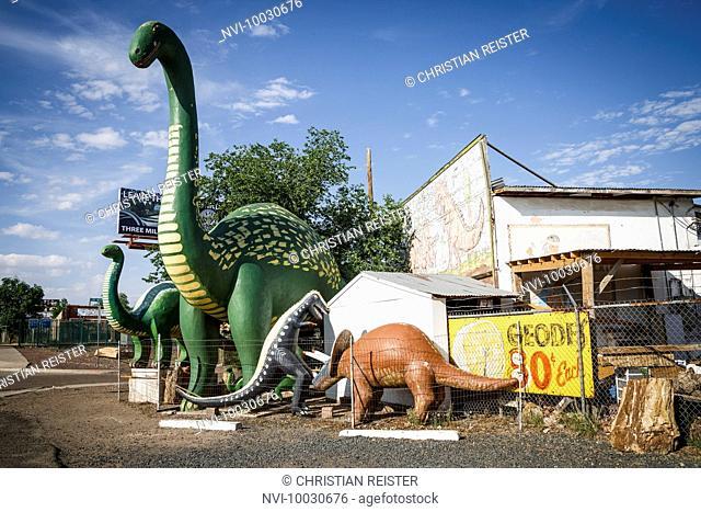 Holbrook, Historic Route 66, Navajo County, Arizona, USA