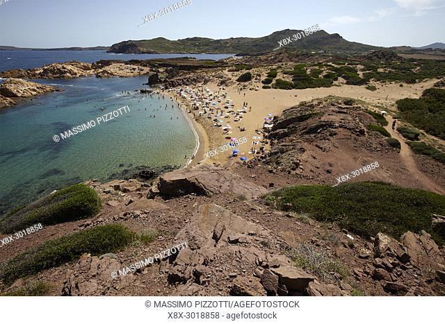 Cala Pregonda, Menorca,Balearic Islands, Spain
