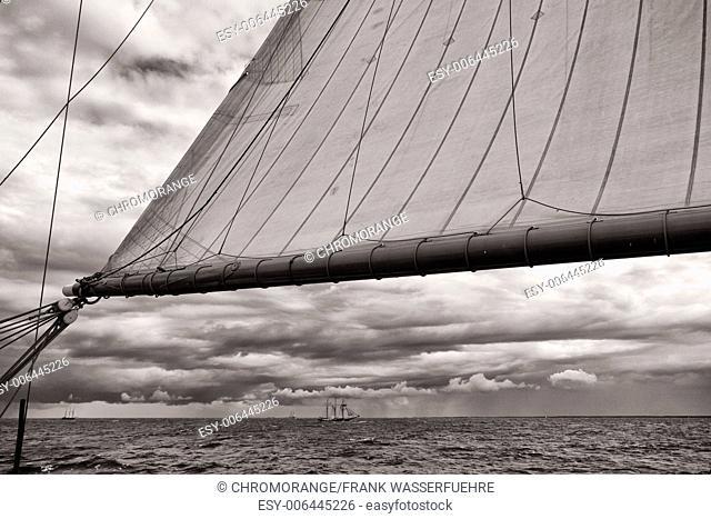 Tall Ships at the Baltic Sea