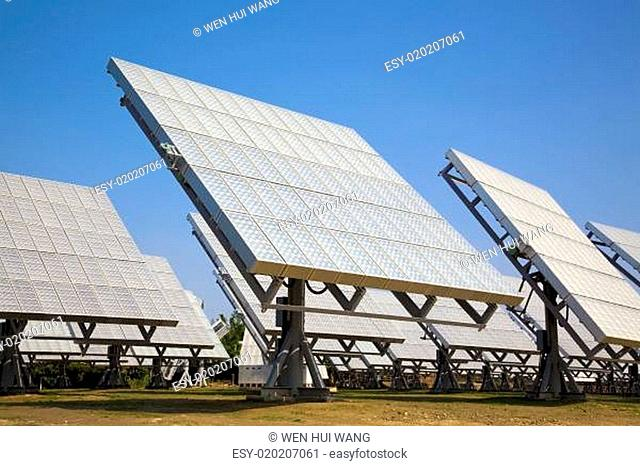solar panel and ECO Power plant