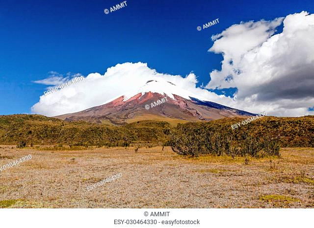 Cotopaxi Is A Volcano In The Andes Mountains Near Quito Ecuador It Is The 2Nd Highest Summit In The Country