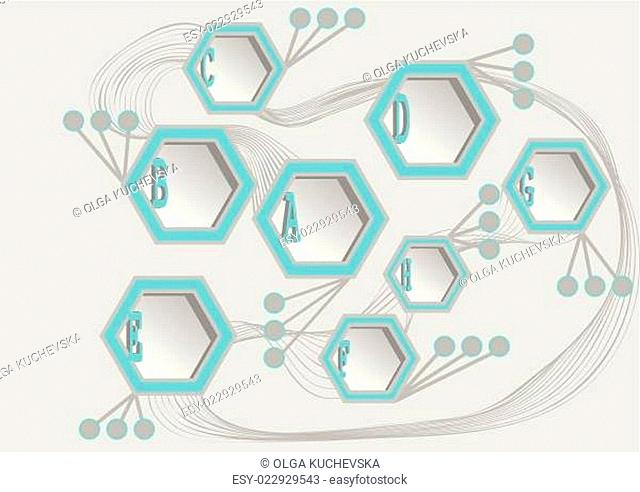 info hexagons