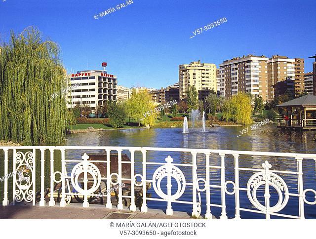 Yamaguchi park. Pamplona, Spain