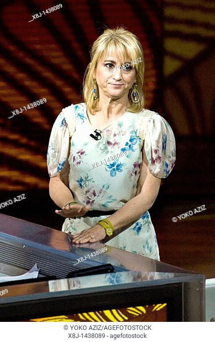 15 05 2011, Milan, Telecast RAI 3 'Che tempo che fa'  Luciana Littizzetto