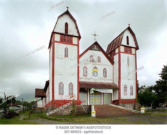 Church. Ruteng. Indonesia. South East Asia