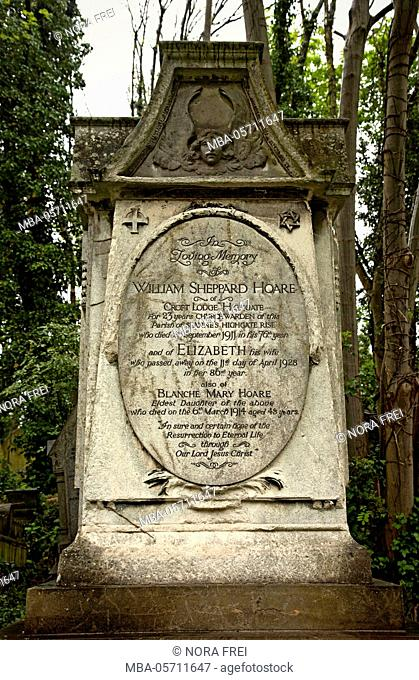 Cemetery, gravestone, memory, trees
