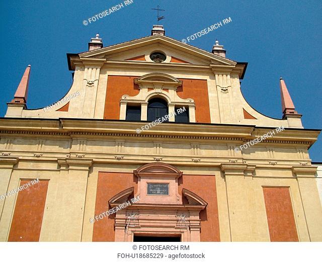 Emilia-Romagna, Italy, Reggio nell'Emilia, Europe, 14th-century Palazzo del Muncipio in the town of Reggio Emilia
