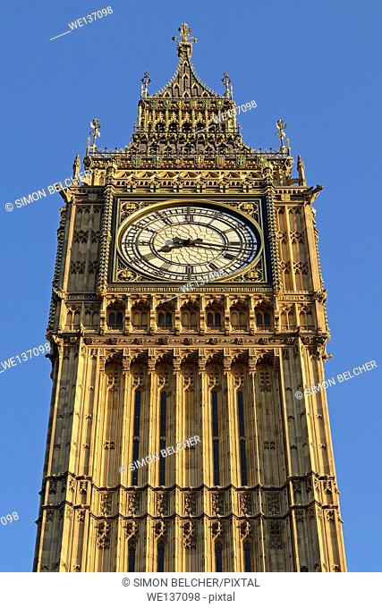 Big Ben, Westminster, London, England, UK