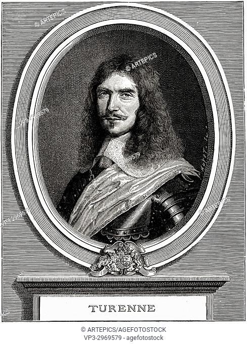 Henri de la Tour d'Auvergne, Vicomte de Turenne - . Protestant soldier. Marshal of France