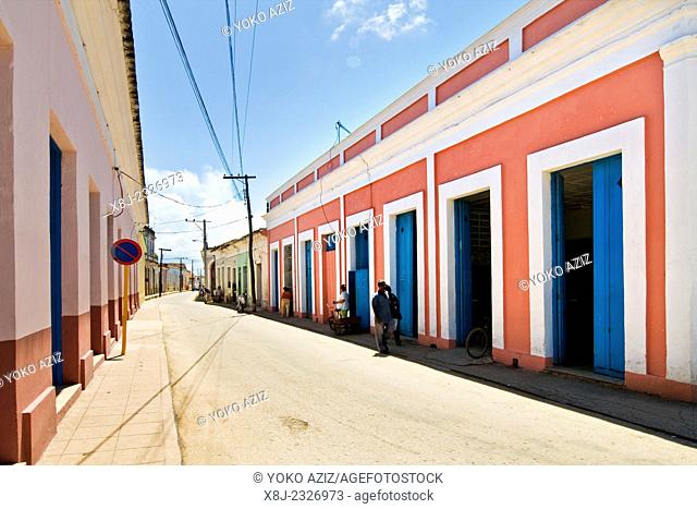 cuba, remedios, traditional house