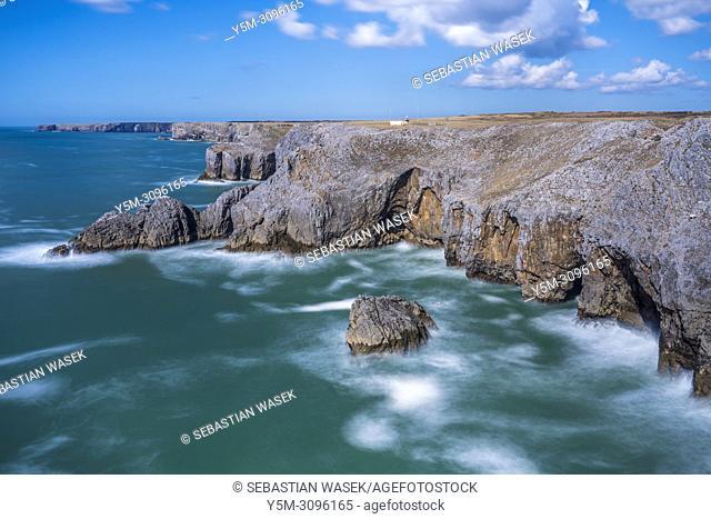 Pembrokeshire Coast National Park, Bosherston, Wales, UK