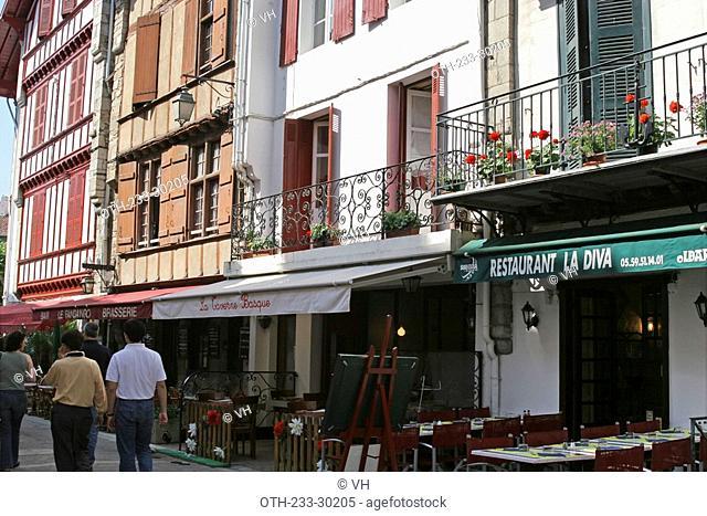 Historic town of St-Jean-de-Luz, France