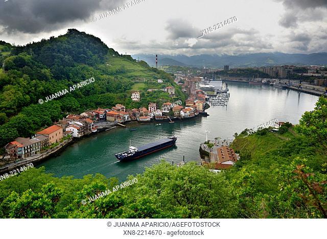 Port of Pasajes, Donostia, San Sebastian, Guipuzkoa, Basque Country, Euskadi, Spain, Europe