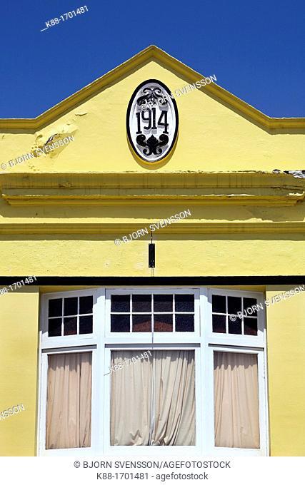 Old building facade  Hobart, Tasmania, Australia
