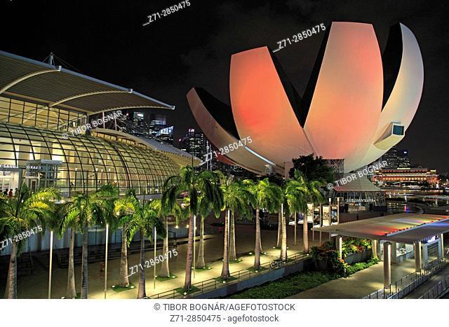 Singapore, Art Science Museum,