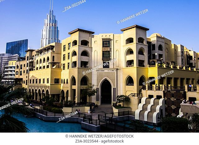The Souk Al Bahar in Dubai