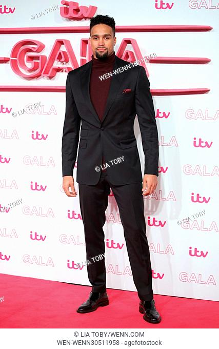 The ITV Gala 2016 held at the London Palladium Theatre - Arrivals Featuring: Ashley Banjo Where: London, United Kingdom When: 24 Nov 2016 Credit: Lia Toby/WENN