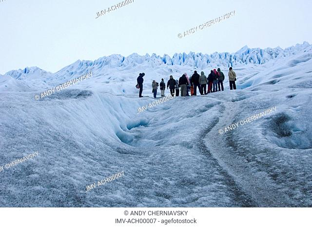 People in the Snow, Argentina