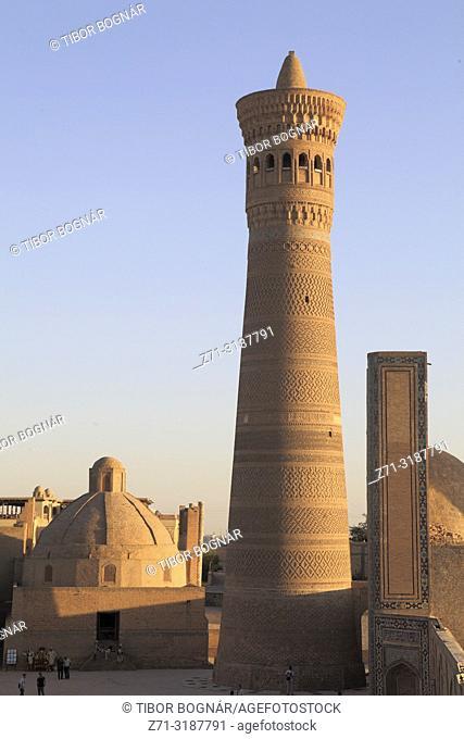 Uzbekistan; Bukhara; Kalon Minaret,