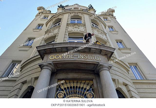 25-hour marathon of cultural events to mark the 25th anniversary of the opening of Goethe Institute starts in Prague, Czech Republic, October 2, 2015