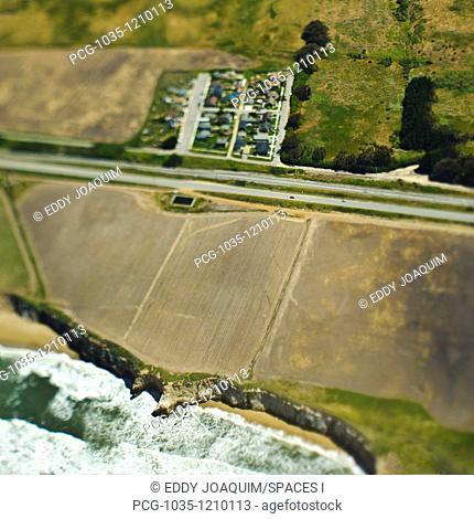 Coastal Road and Farmland