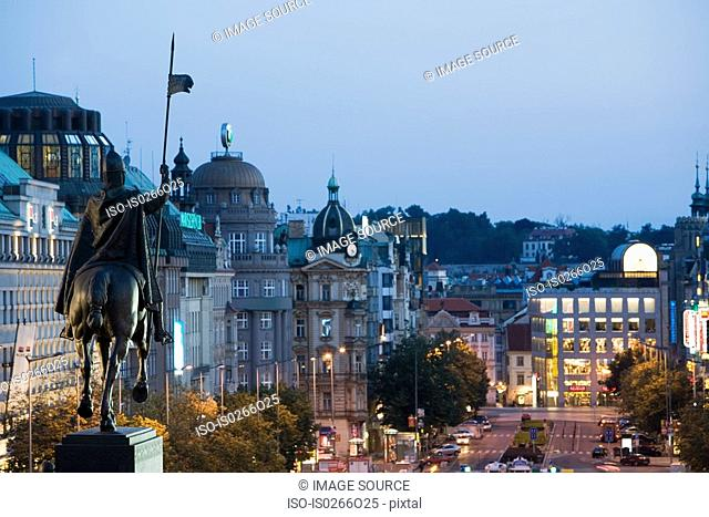 Wenceslas monument prague