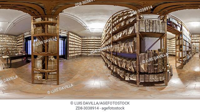 File room. Medina Sidonia Palace. Sanlucar de Barrameda. Cadiz. Spain