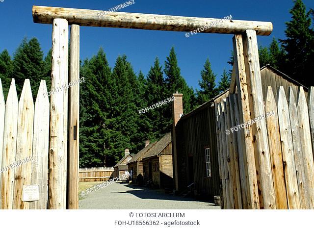 Tacoma, WA, Washington, Point Defiance Park, Fort Nisqually Living History Museum