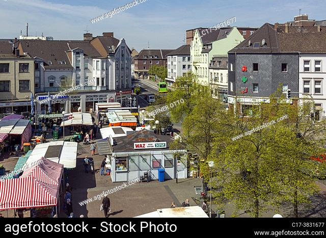 Oberhausen, Sterkrade, Germany, Oberhausen, Oberhausen-Sterkrade, Ruhr area, Lower Rhine, Rhineland, North Rhine-Westphalia, NRW, Grosser Markt