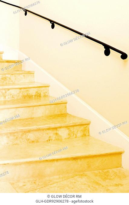 Staircase in a home