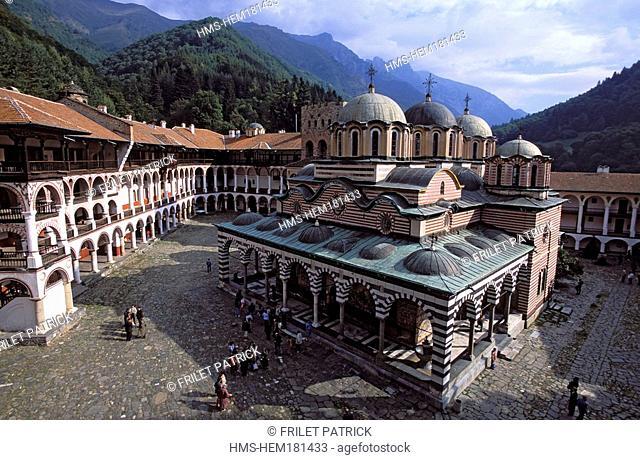 Bulgaria, Rila Monastery classified as World Heritage by UNESCO