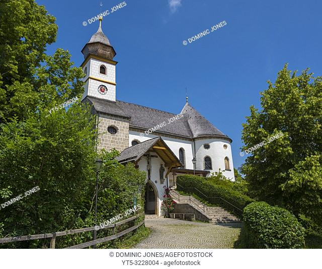 Kloster Maria Eck near Siegsdorf in Upper Bavaria