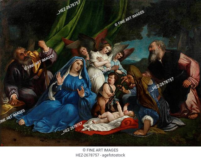 The Adoration of the Christ Child, 1546-1547