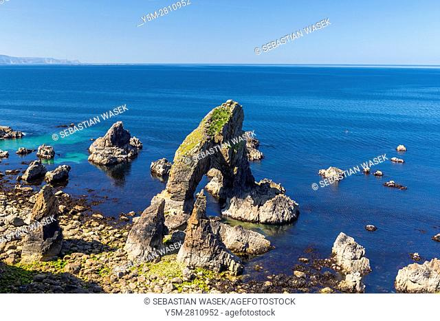 Sea Arch, Crohy Head, County Donegal, Ireland, Europe