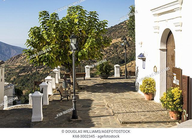 Historic church in Bubion, Alpujarras, Andalusia, Spain