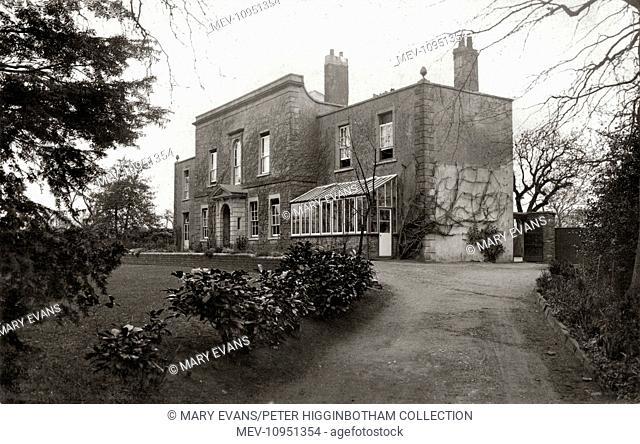 The Bristol Diocesan Home for Girls, Longwell Green, near Bristol