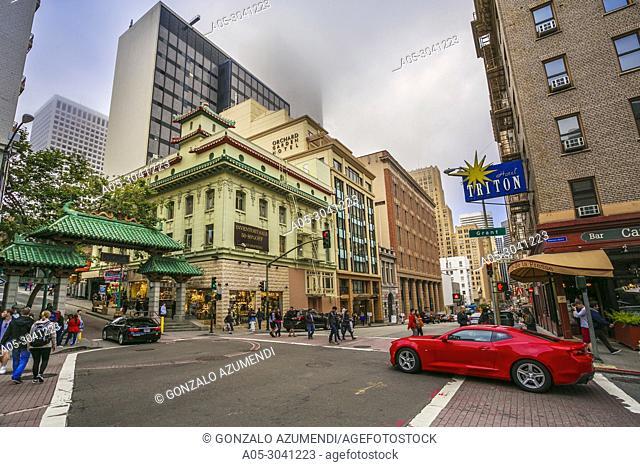 Chinatown.San Francisco. California, USA