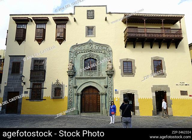 Casa de Columbus - Las Palmas de gran Canaria, España on December 14, 2019
