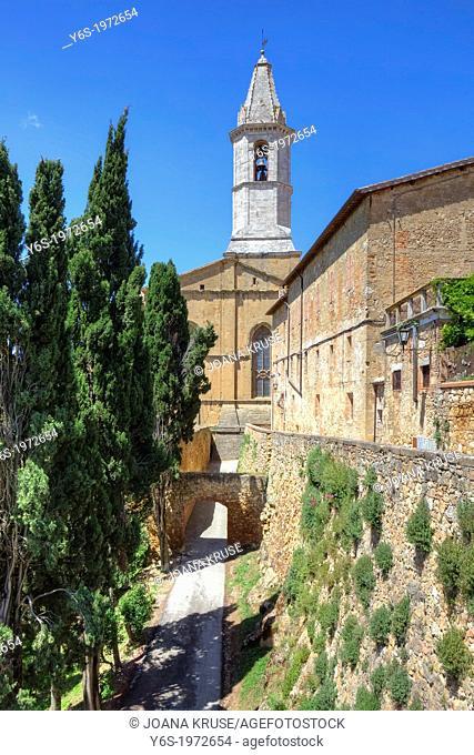 cathedral of Pienza, Tuscany, Italy
