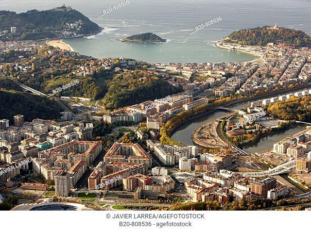 San Sebastian (aka Donostia), Guipuzcoa, Basque Country, Spain