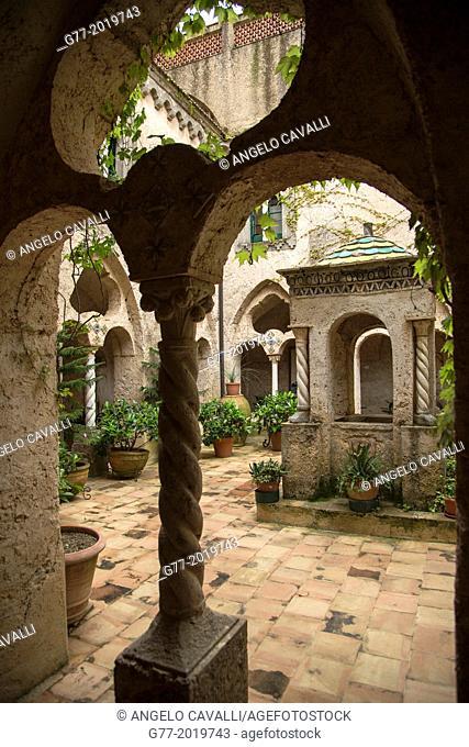 Villa Rufolo, Ravello, Amalfi Peninsula, Campania, Italy