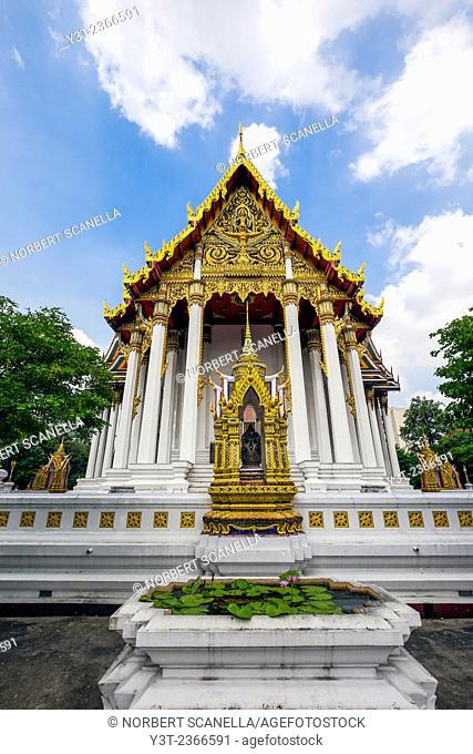 Asia. Thailand, Bangkok. Wat Rajaburana