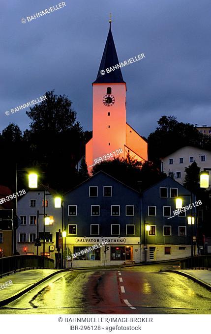 Parish church St Bartholome Passau district Ilzstadt Lower Bavaria Germany